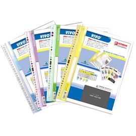 A4 11孔30入名片型商業資料本 TS11-A401 1